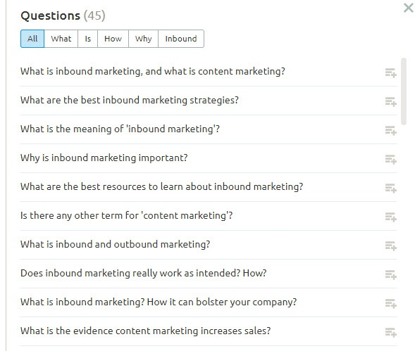 Topic Cluster Sub Topic Creation tool
